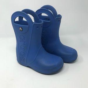 Crocs Kids Handle It Waterproof Rain Boots